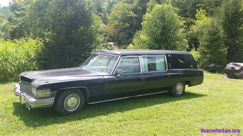funeral coach for sale 1974 cadillac hearse combination hearse for sale