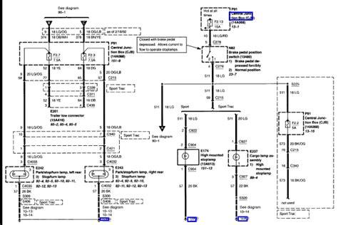 multifunction wiring diagram 2002 ford explorer sport trac repair wiring scheme