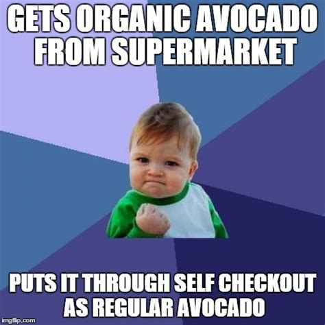Self Checkout Meme - success kid meme imgflip