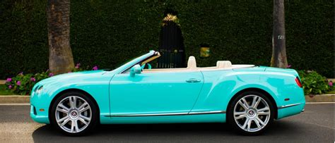 turquoise bentley beverly hills dealer commissions tiffany themed bentleys