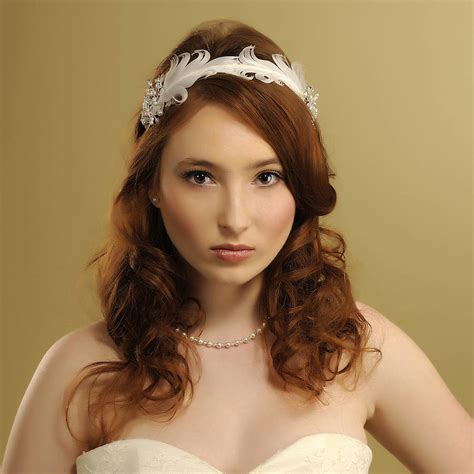 Handmade Headpieces - handmade imogen wedding headpiece by rosie willett designs