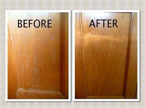 how to clean kitchen cabinets vinegar grease stains on wood cabinets mf cabinets