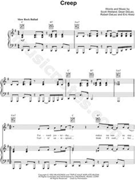 tutorial piano creep back to black sheet music by amy winehouse scores