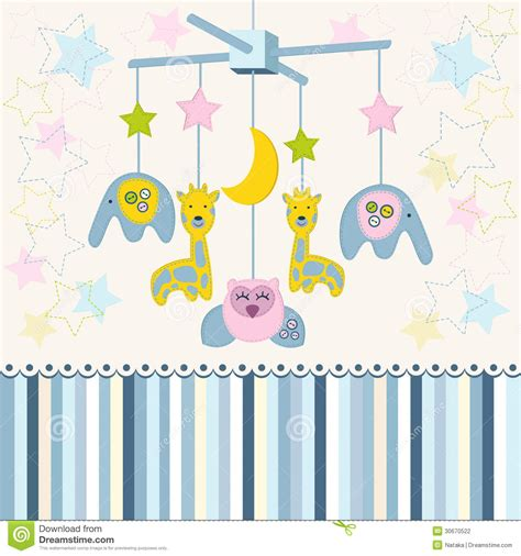 Baby Crib Carousel Carousel Baby For Crib Vector Stock Photography Image 30670522