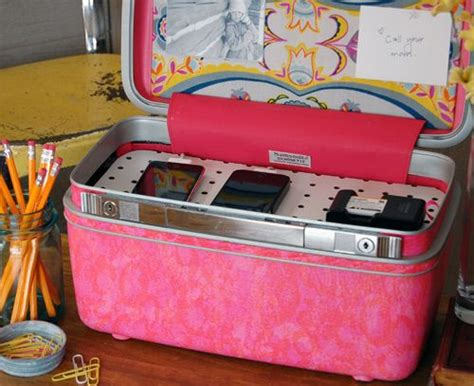 make a charging station 1000 ideas about makeup train case on pinterest makeup
