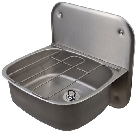 wall hung stainless steel sinks twyford ss 500 x 400mm wall hung bucket with