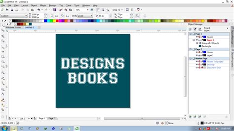 cara membuat background watermark di coreldraw cara membuat text usang di coreldraw designs books