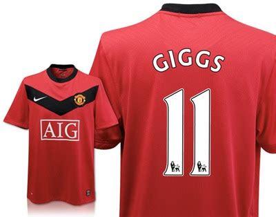 Baju Bola Manchester United kedai baju bola promo manchester united named jersey