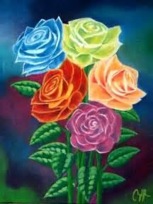 imagenes de varias flores varias rosas oleando momentos