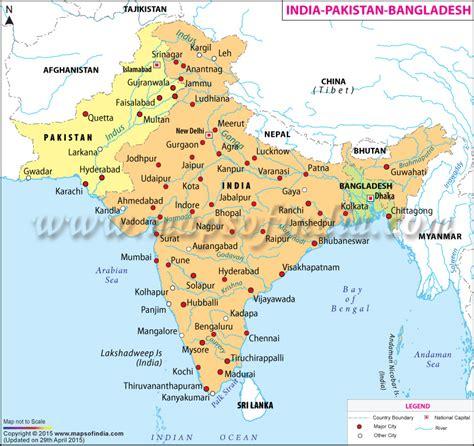 india bangladesh india pakistan bangladesh map