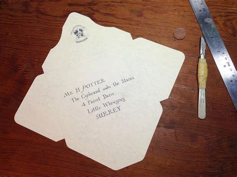 digits perfect hogwarts acceptance letter