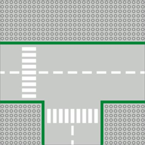 lego printable road pdf inventory 300 t junction road plates brickipedia the