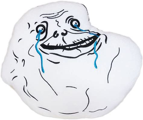 Meme Pillows - moodrush forever alone meme plush cushion rage face shop