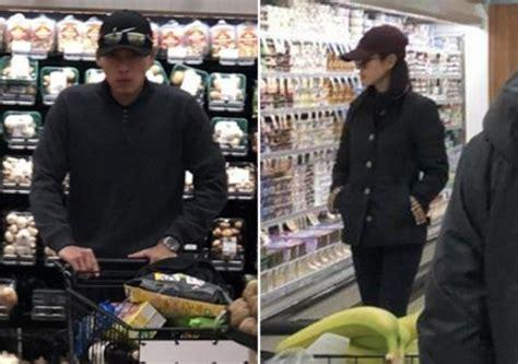 hyun bin son ye jin spotted shopping  super market