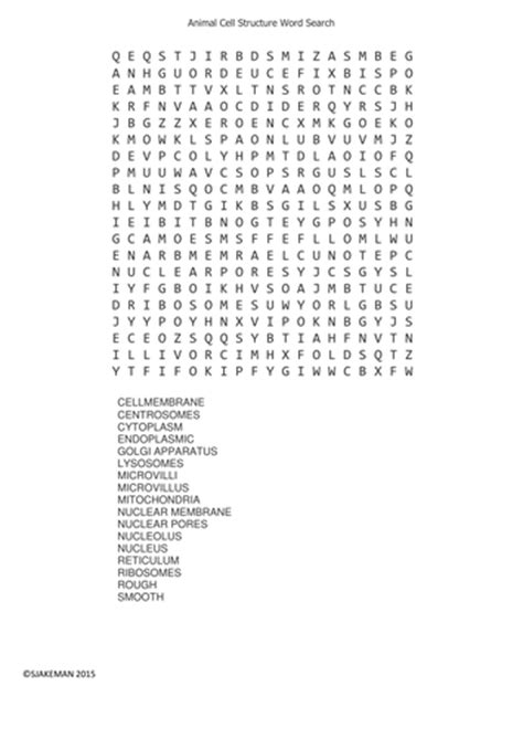 printable word search biology biology word searches by uk teaching resources tes