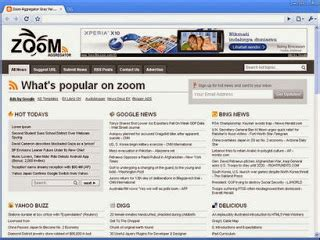 news aggregator template zoom feed aggregator free template