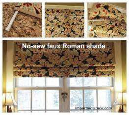 How To Make Easy Roman Blinds How To Make Inexpensive No Sew Roman Shades I Heart Nap Time