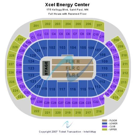 xcel energy center seating xcel energy center tickets in paul minnesota xcel