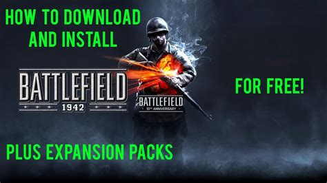 get all battlefield 4 expansion packs for free until september 19 how to install battlefield 1942 expansion packs for free tutorial