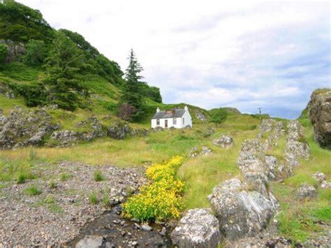 scottish highlands cottage rentals 3 bedroom secluded cottage in scotland argyll oban west