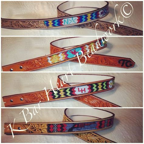 Handcrafted Western Belts - 732 best images about bead loom patterns projects on