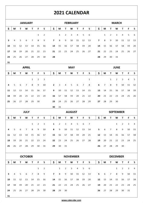 blank  printable calendar template  printable