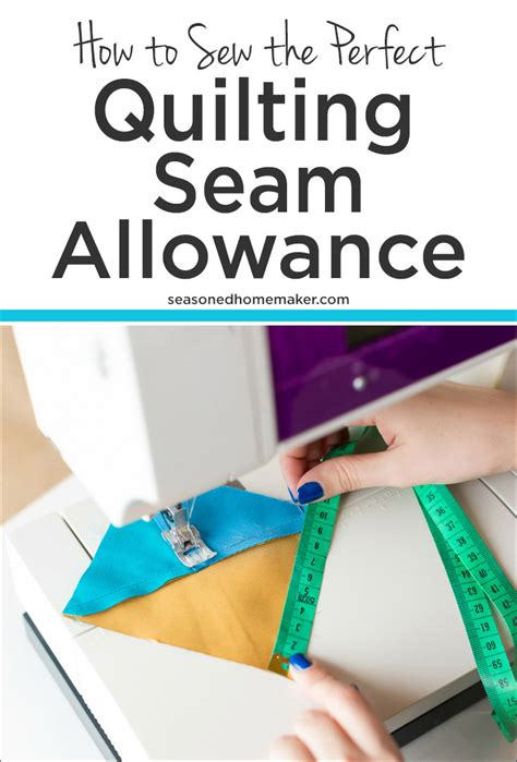Quilting Seam Allowance by How To Sew The Quilting Seam Allowance The