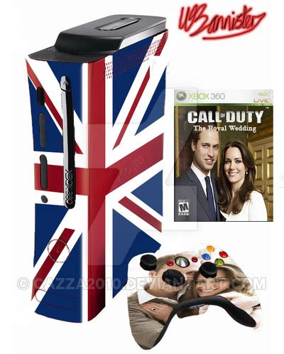 royale xbox 360 royal wedding xbox 360 pack by cazza2010 on deviantart