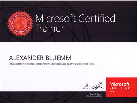 template training certificate template word