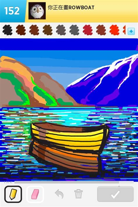 how to draw a rowboat rowboat drawings how to draw rowboat in draw something