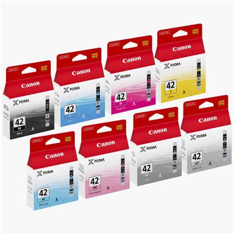 Canon Cartridge Cli 42 Cyan canon cli 42 8inks multi pack ink cartridge ebuyer