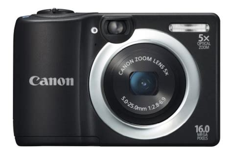 Kamera Canon Zoom Lens 5x canon powershot a1400 16 0 mp digital with 5x digital image stabilized zoom 28mm wide