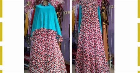 Grosir Baju Dress Jumbo Ardhani Maxy H set gamis syar i motif batik cantik grosir baju gamis