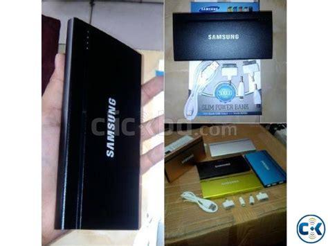 Power Bank Samsung Kapasitas 30000 samsung 30000 mah ultra slim power bank clickbd