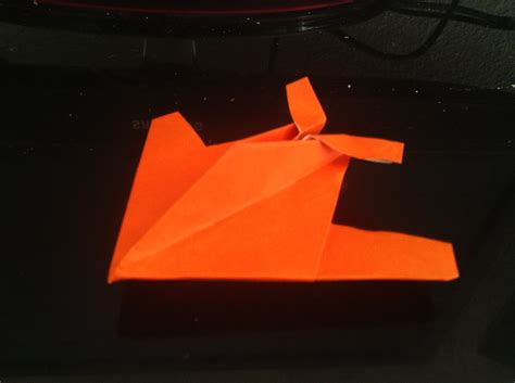 Origami Stealth Fighter - daily origami 78 stealth fighter by naganeboshni on