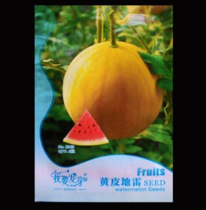 Jual Bibit Buah Semangka benih retail asia semangka kulit kuning 6 biji jual
