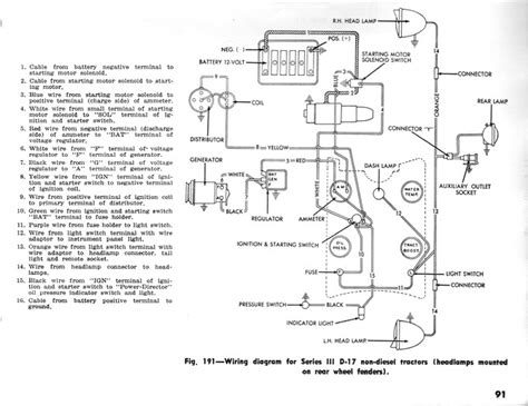 wiring diagram for allis chalmers wd45 get free image