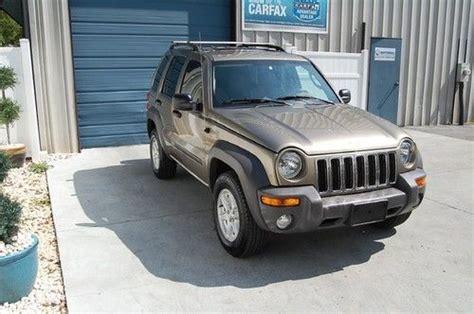 04 Jeep Liberty Mpg Buy Used 2004 Jeep Liberty Sport 4wd 3 7l V6 5 Speed