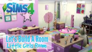Crib Bedding Sets For Girls The Sims 4 Let S Build A Room Little Girls Room Youtube