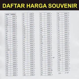 Ini Kumpulan Daftar Harga daftar harga souvenir pernikahan artikel tentang daftar harga souvenir pernikahan