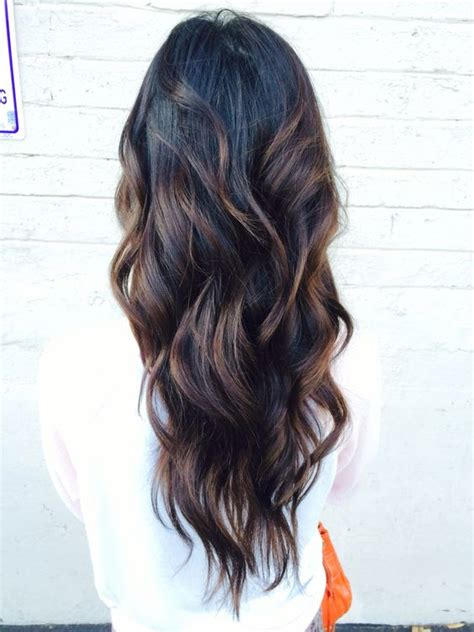 brown curly hair with highlights 28 most chic dark hair ideas to try styleoholic