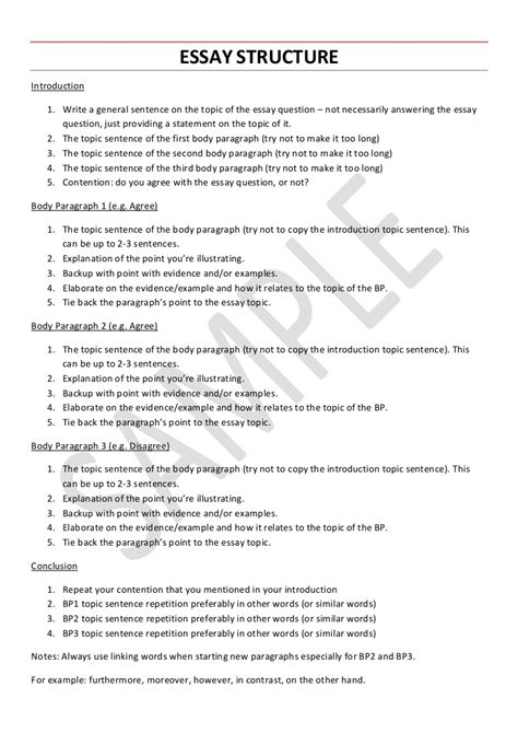 Exle Of A Topic Sentence For An Essay by Exle Of A Topic Sentence For An Essay All Resume Simple