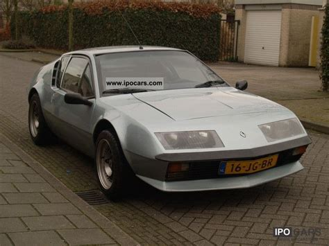 renault car 1980 1980 renault alpine a310 car photo and specs