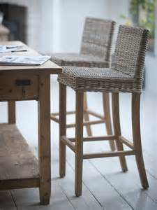 wicker kitchen furniture teak rattan stool cox cox dream home ideas