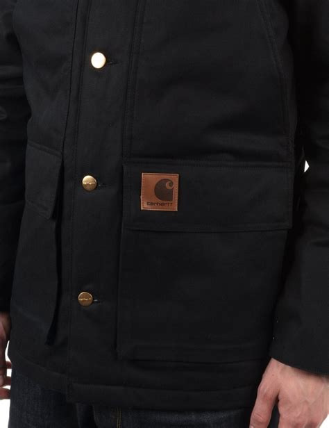Kaos Carhartt 1 High Quality Lp carhartt shelter coat black black rigid carhartt from buddha store uk