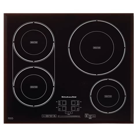 kitchenaid  induction cooktop kcigfbl black