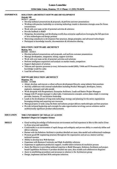 software architect resume exles software architect resume exle photos exle