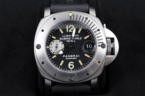 Panerai Submersible Silver Black 1000 images about officine panerai watches on