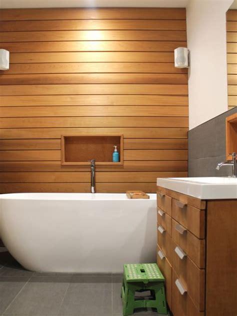 Wood Cladding Bathroom Walls by Cedar Cladding Bathroom Design Ideas Remodels Photos