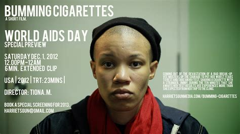 How Do Find Out They Hiv Hiv And Bumming Cigarettes A Conversation With Tiona M The Feminist Wire